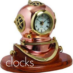 Nautical and beach themed Clocks